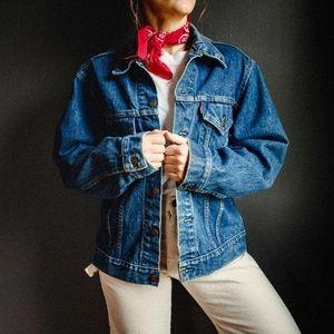 Vintage Levi's Oversized Denim Trucker Jacket